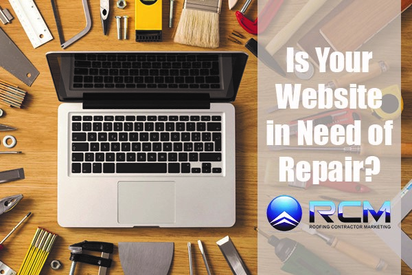 Is your Website in Need of Repair?