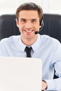 Sales Calling Lead Generation Roofing Contractor Young Man Professional
