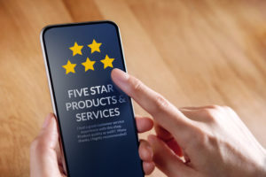 Reviews Responding SEO Roofing Clients