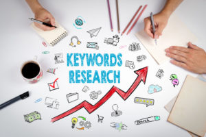 keywords research commercial residential seo strategy